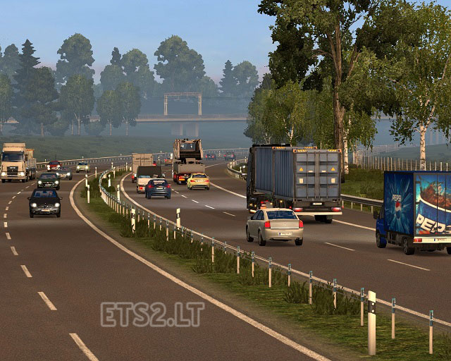 Traffic Density and Speed Limits for 1 22 | ETS 2 mods