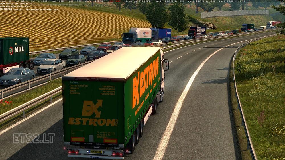 Traffic Jam v 3 0 BETA | ETS 2 mods