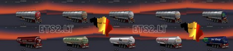 Trailer-Pack-Cistern