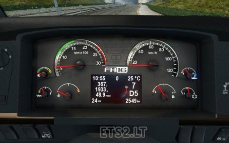 Volvo-FH-Classic-Dashboard