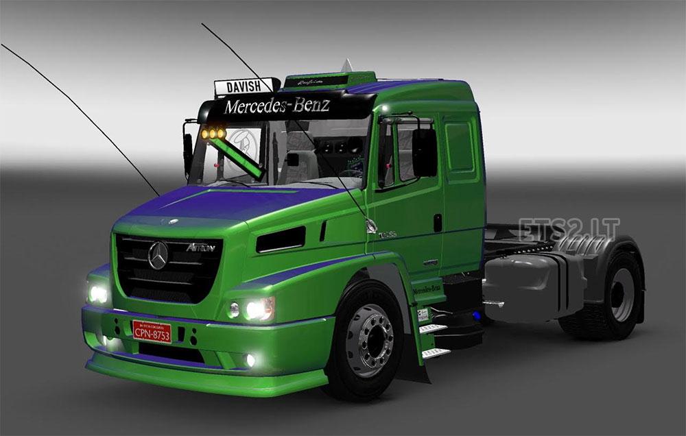 Mercedes Benz Atron Ets 2 Mods