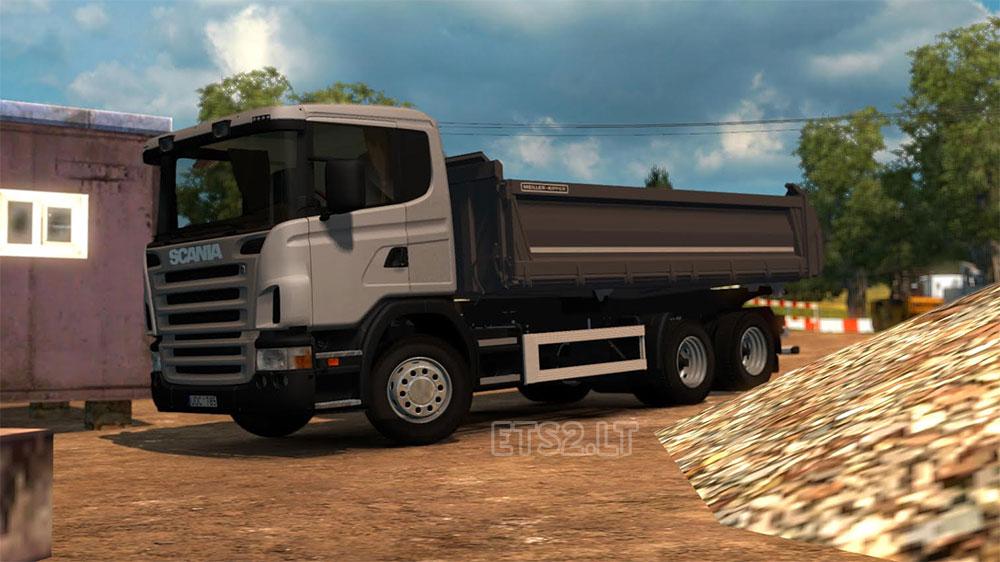 Scania Dumper 6 215 4 Ets 2 Mods