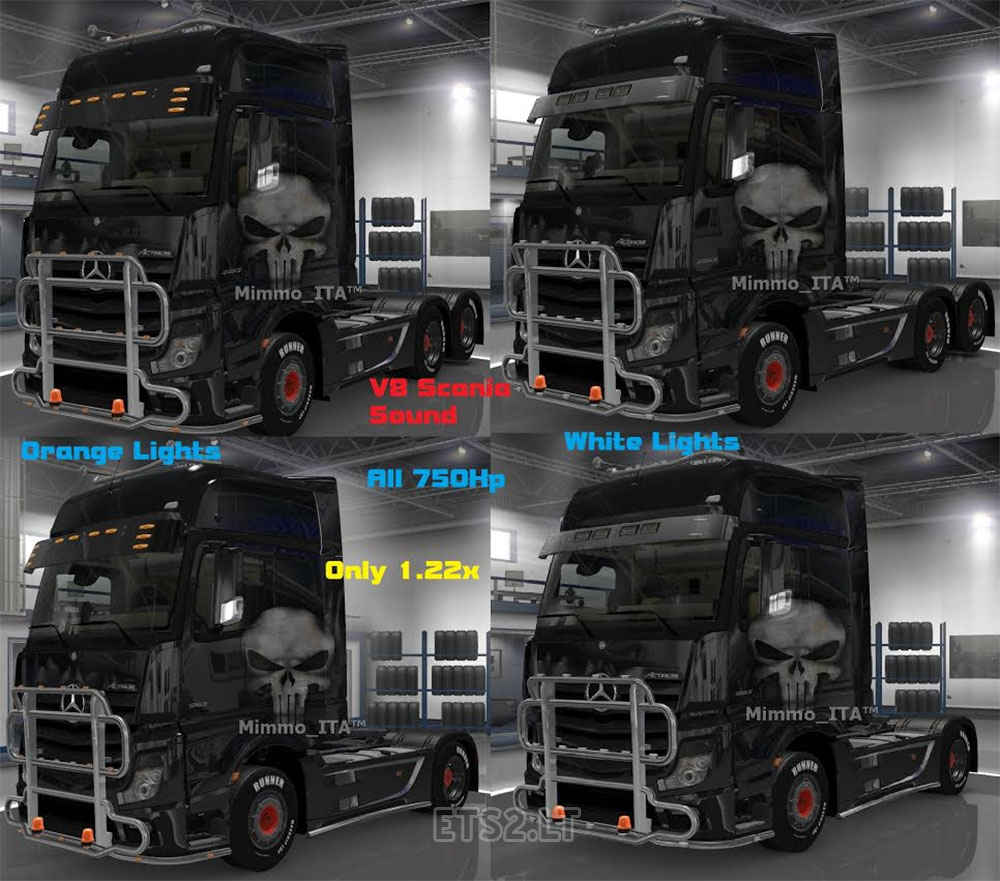 Mercedes Pack LightPlus Multiplayer Ready 1.22x