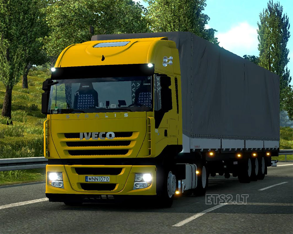 Iveco Stralis as II  ETS 2 mods