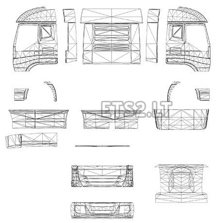 truck templates ets 2 mods part 2