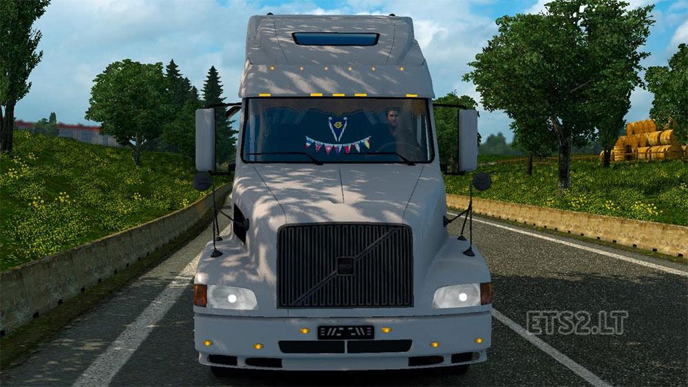скачать мод вольво внл 660 для Euro Truck Simulator 2 - фото 9