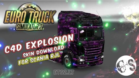 C4D-Explosion