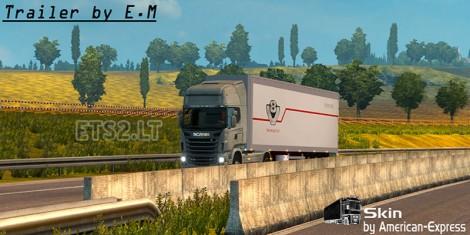 Scania-Trailer