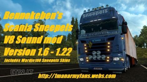 Scania-V8-Sneepels-Sound