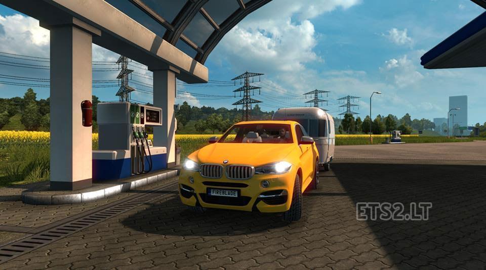 Bmw X6m Hd Truck Team Ets 2 Mods