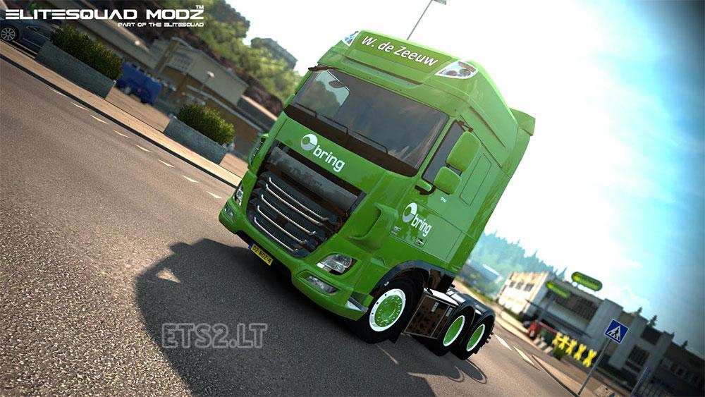 W. de Zeeuw Transport DAF XF truck   ETS 2 mods