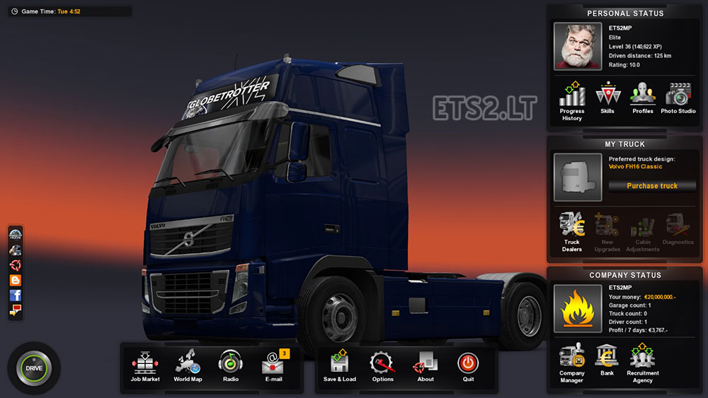 Save Game   ETS 2 mods - Part 11