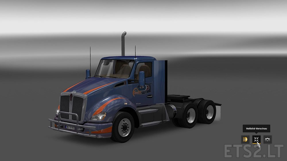 Kenworth T680 from ATS for ETS2 | ETS 2 mods