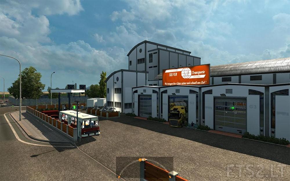 Large Garage Spt Service Ets2 Version Ets 2 Mods