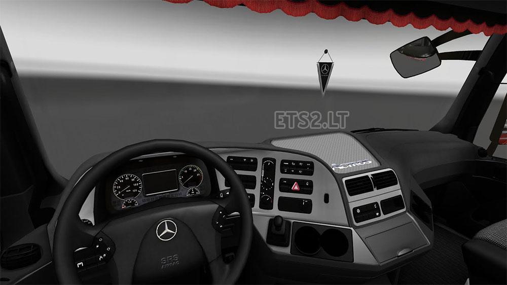 Mercedes-Benz Actros MP3 Interior/Exterior Rework ver  1 1   ETS 2 mods