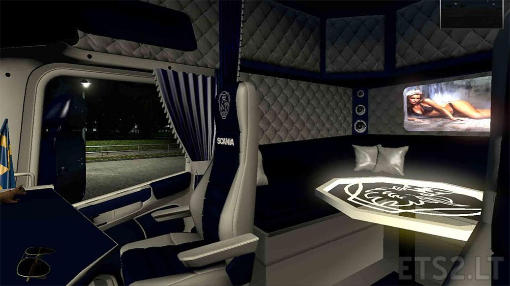 scania rs interiors by malcom37 v1 0 ets 2 mods