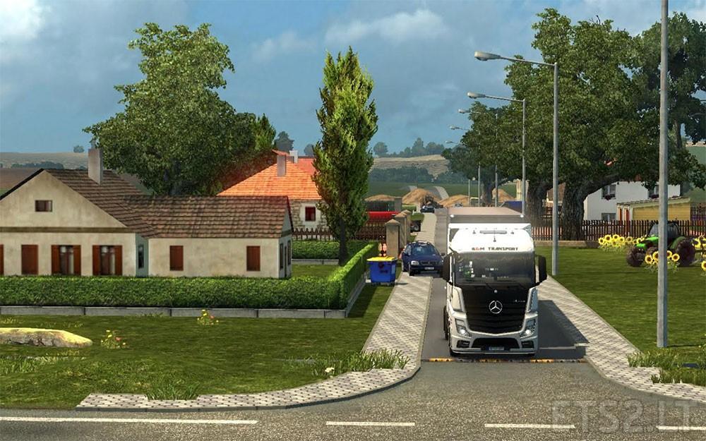 Sweet Homes By Benek Ets 2 Mods
