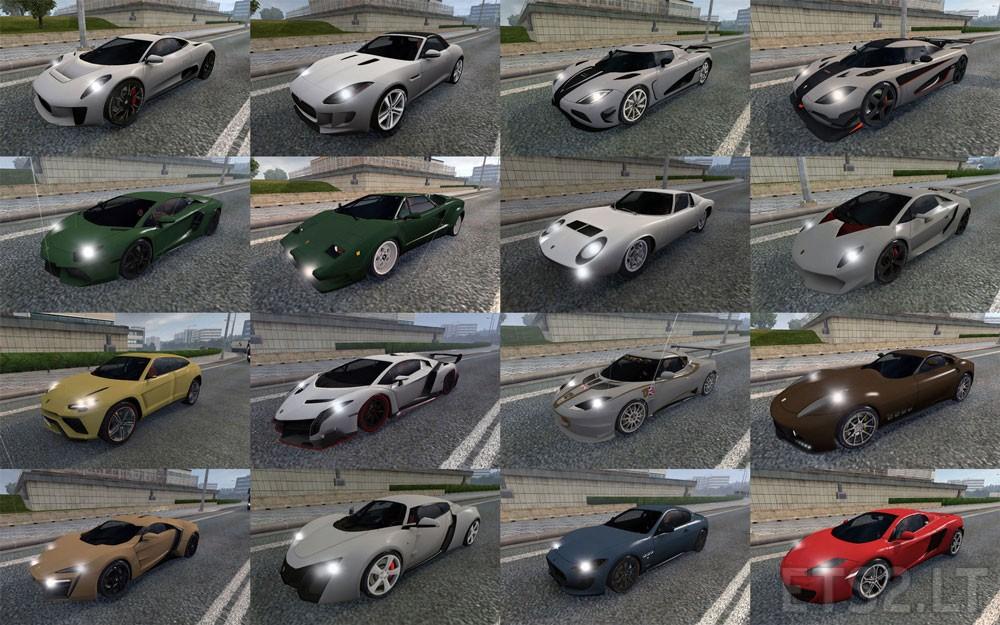 Asphalt 8 Traffic Pack Update 11 03 16 Ets 2 Mods