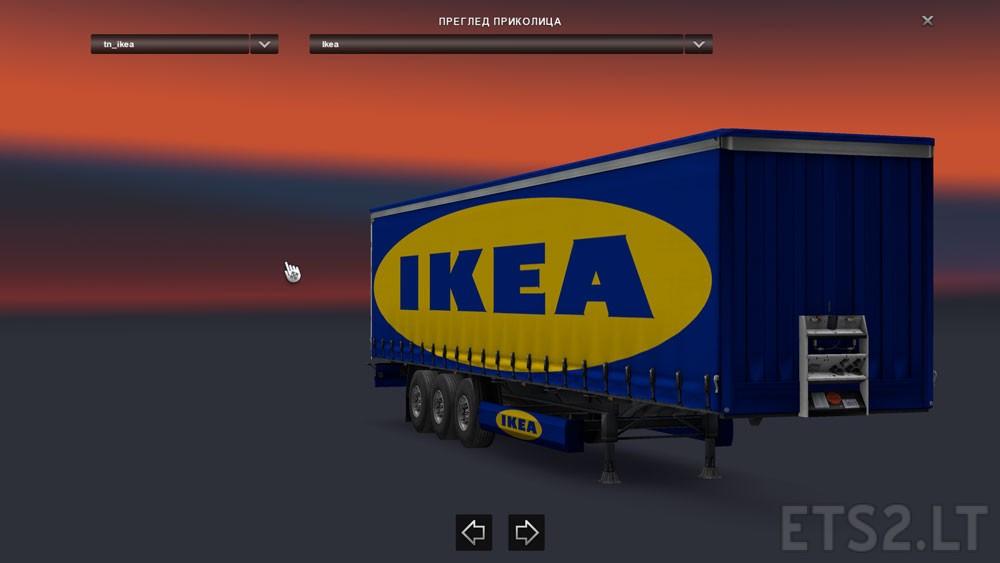 Ikea trailer ets 2 mods Ikea simulation
