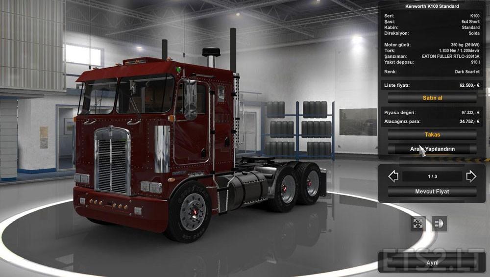 Kenworth K100 v 3.0 | ETS 2 mods