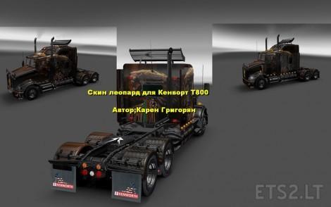 Kenworth-T800-Leopard-2