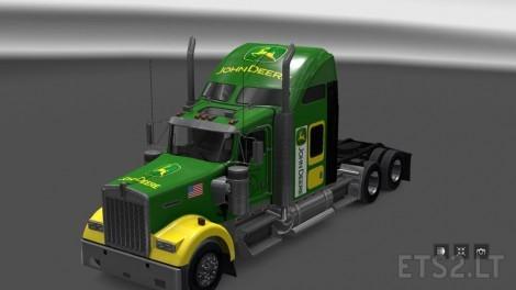 Kenworth-W900-John-Deere