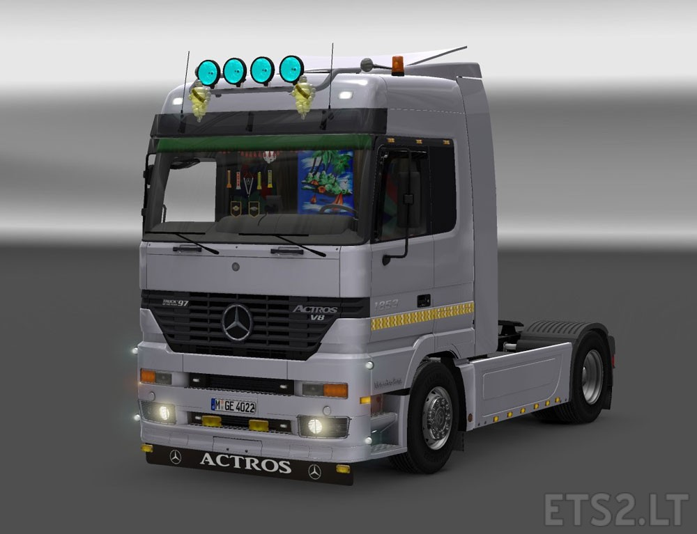 Mercedes benz actros mp1 v 2 0 ets 2 mods for Mercedes benz astros