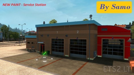 New-Paint-Service-Station