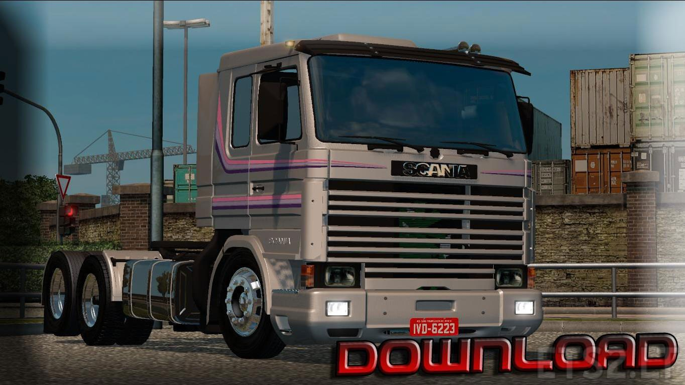 Scania 113 Frontal | ETS 2 mods Scania Trucks Interior