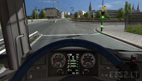 Scania-Dashboard