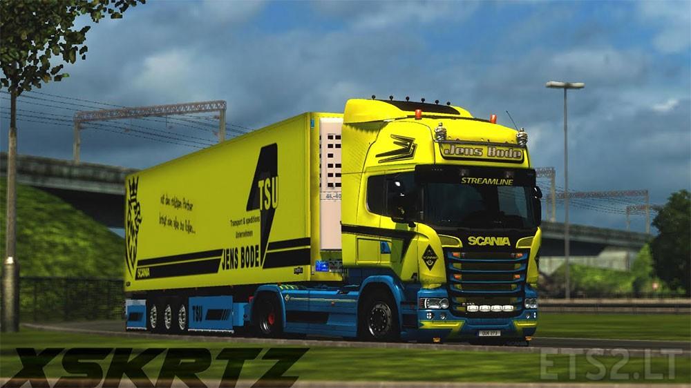 Trucks scania ets 2 mods part 12 - Jens Bode Tsu Scania Rjl Streamline Ets 2 Mods