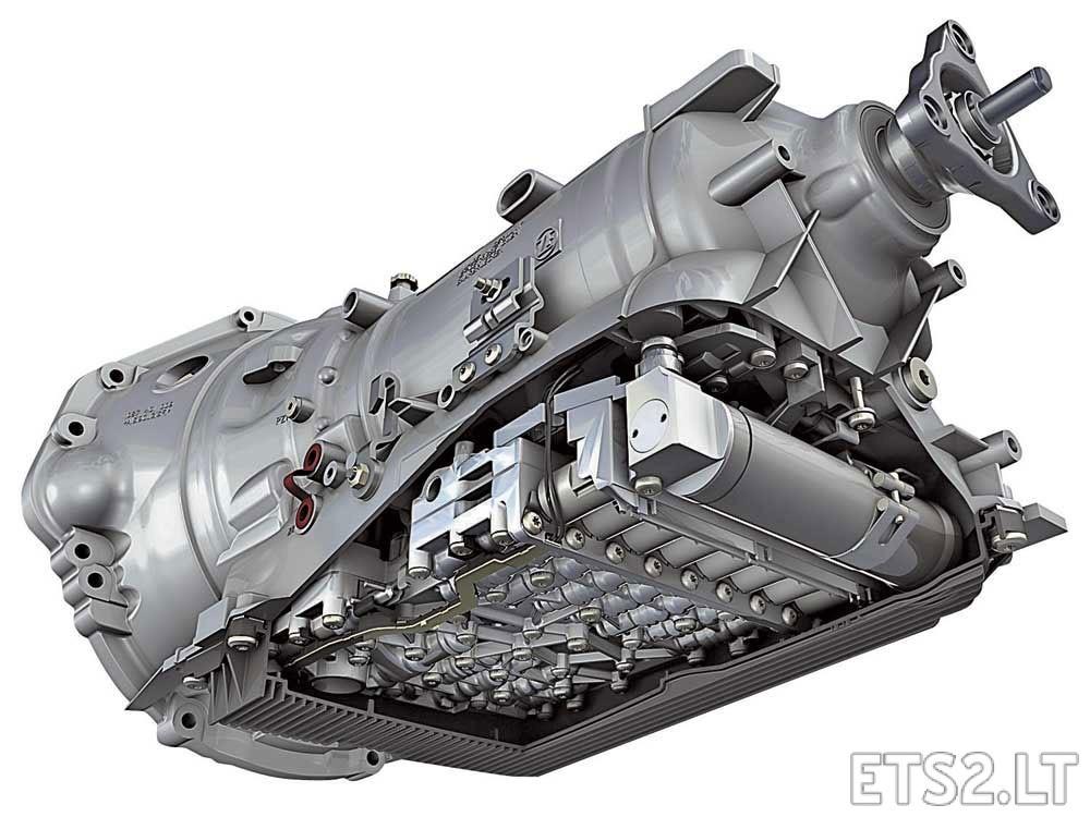 8 Speed Transmission for all default Trucks  ETS 2 mods