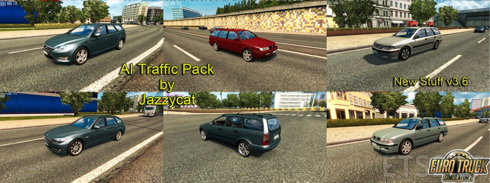 Ai Traffic Pack By Jazzycat V 3 6 Ets 2 Mods