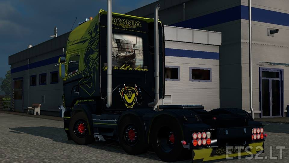 Scania rjl new generation skin ets 2 mods for New generation