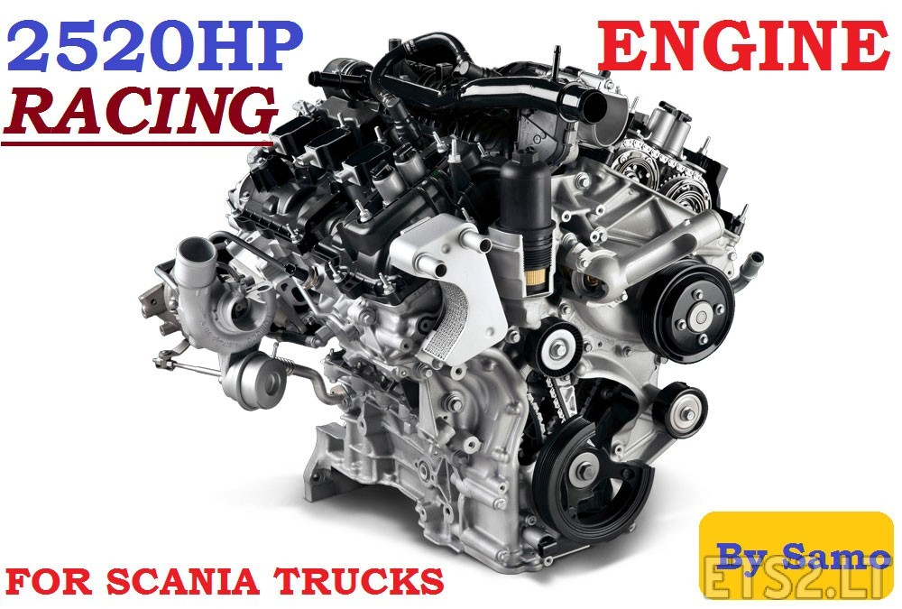 Racing-Scania-Engine