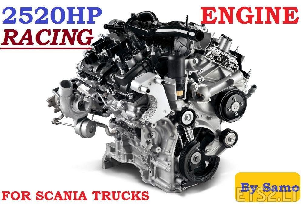 Racing-Scania-Engine