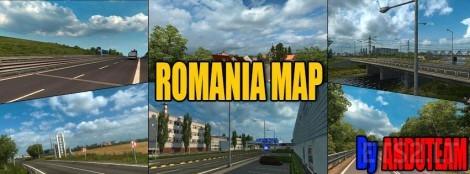 Romania-Map