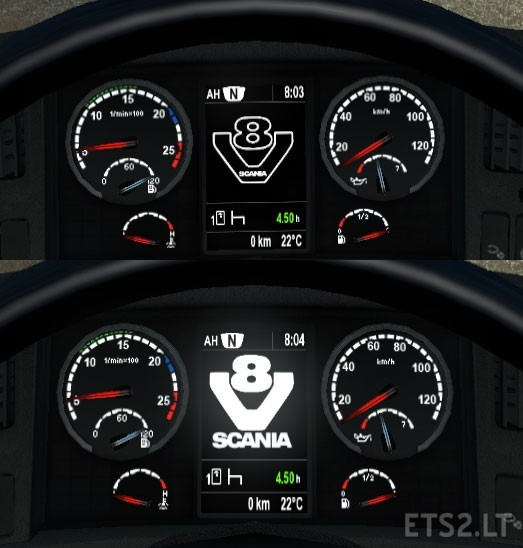 Scania Dashboard Ets 2 Mods Part 4