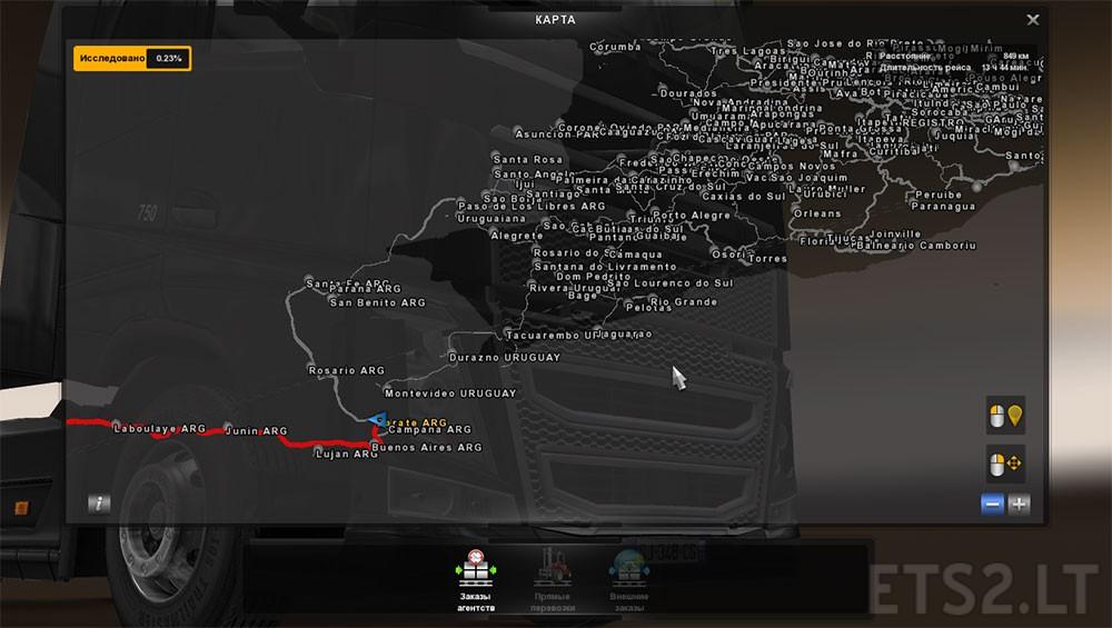 Combining Maps Mapa Brasil Total V EAA V ETS Mods - Argentina map ets2