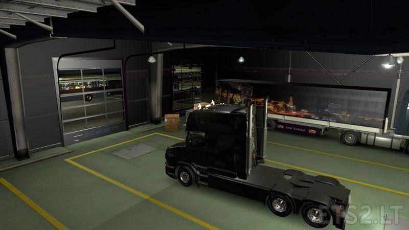 Garages mod black dark purple v ets mods