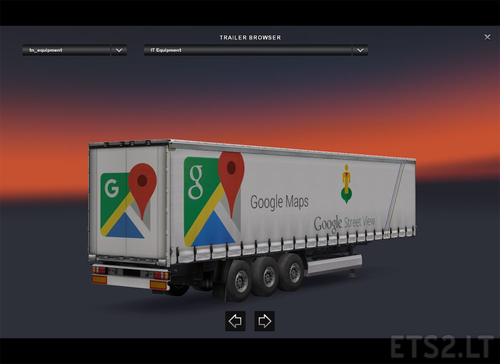 Maps, Hungarian, Jeep, Mercedes trailers | ETS 2 mods