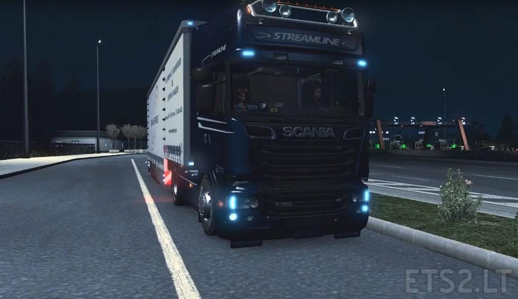 Scania R730 V8 Stock Sound Mod (v2) Scania Trucks Interior
