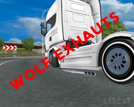 wolf-excaust