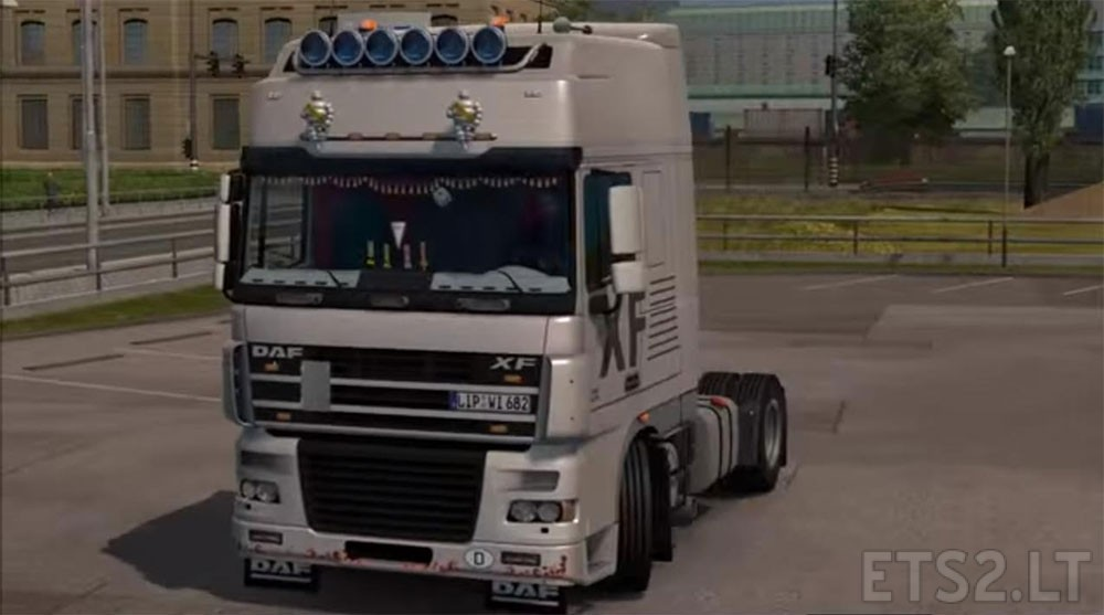 Interior wall texture - Daf Xf 95 Ets 2 Mods