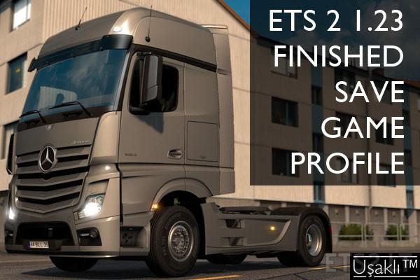ETS 2 1 23 Finished Save Game Profile | ETS 2 mods