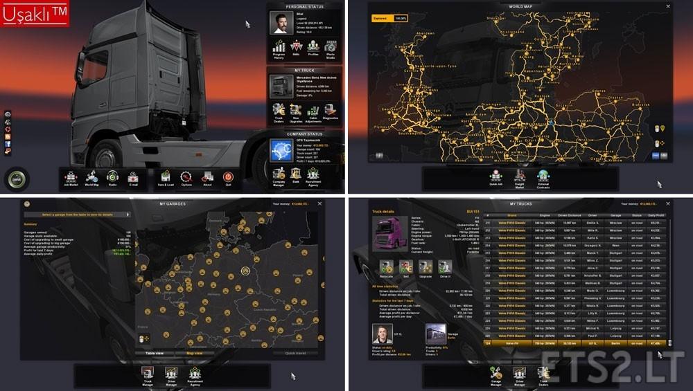 Euro truck simulator 2 скачать мод карта mario map (europe.