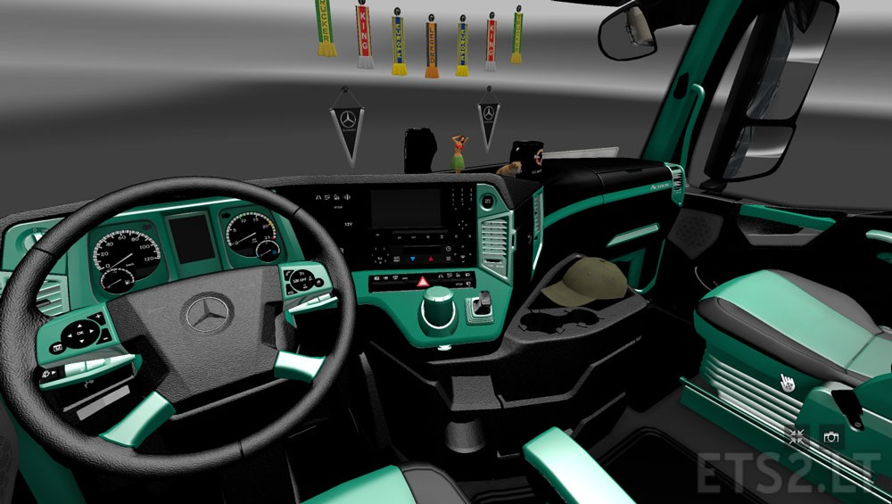 Actros interior | ETS 2 mods - Part 9