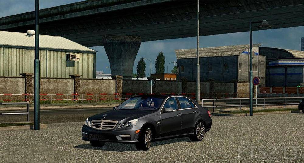 mercedes e63 | ets 2 mods