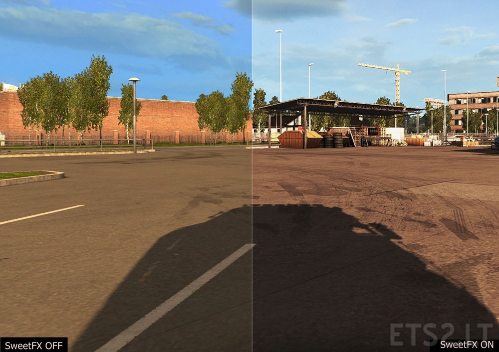 ReShade with SweetFX v 2 0 | ETS 2 mods
