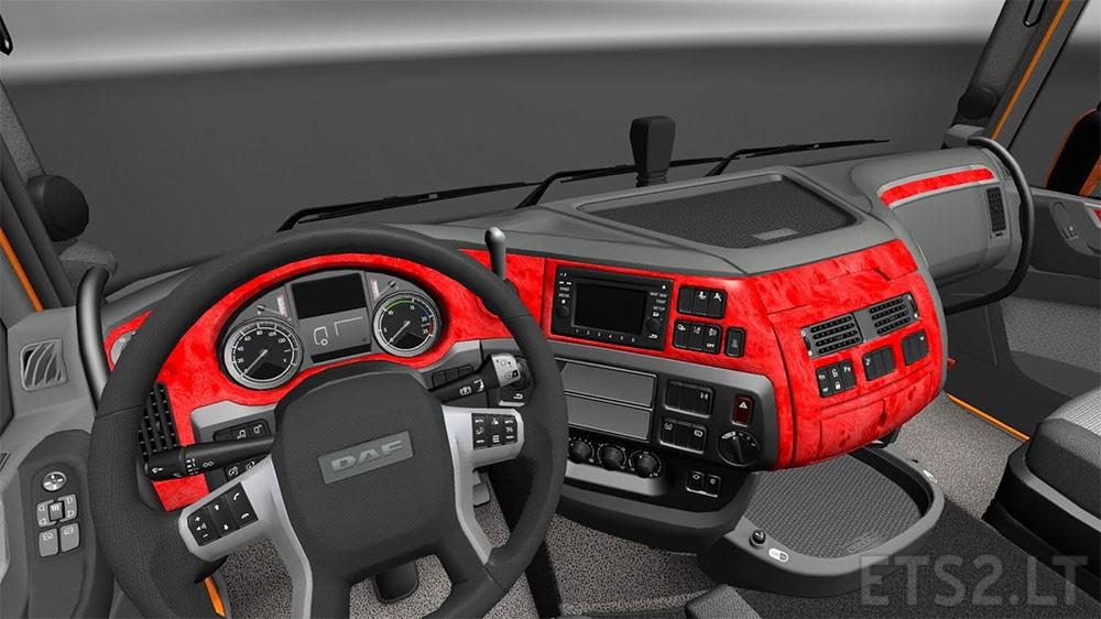 Daf euro 6 interior ets 2 mods part 4 for Daf euro 6 interieur